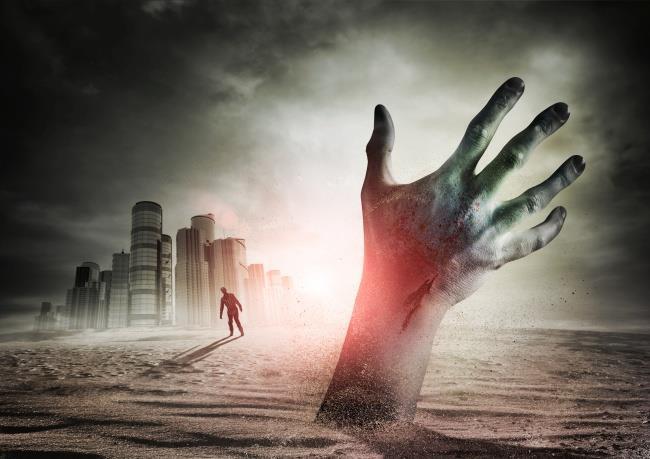 一只恐怖的手! 恐怖的手图片