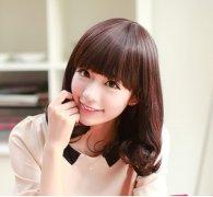 甜美可爱的韩式蛋卷头图片