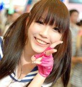 清纯女学生发型设计 齐刘海双马尾最受欢迎
