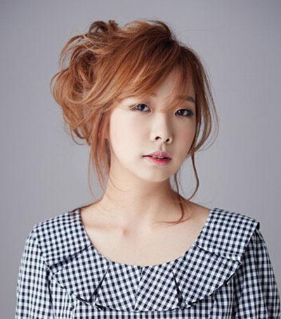 最好看的韩式刘海发型图片