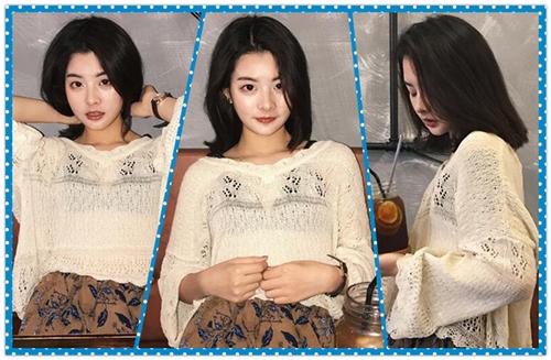 这么清爽的韩式梨花头短发你确定不剪?