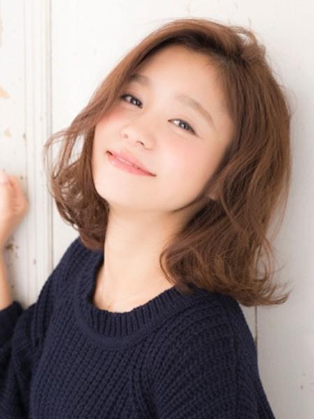 最新韩式梨花烫发型图片 清甜最减龄