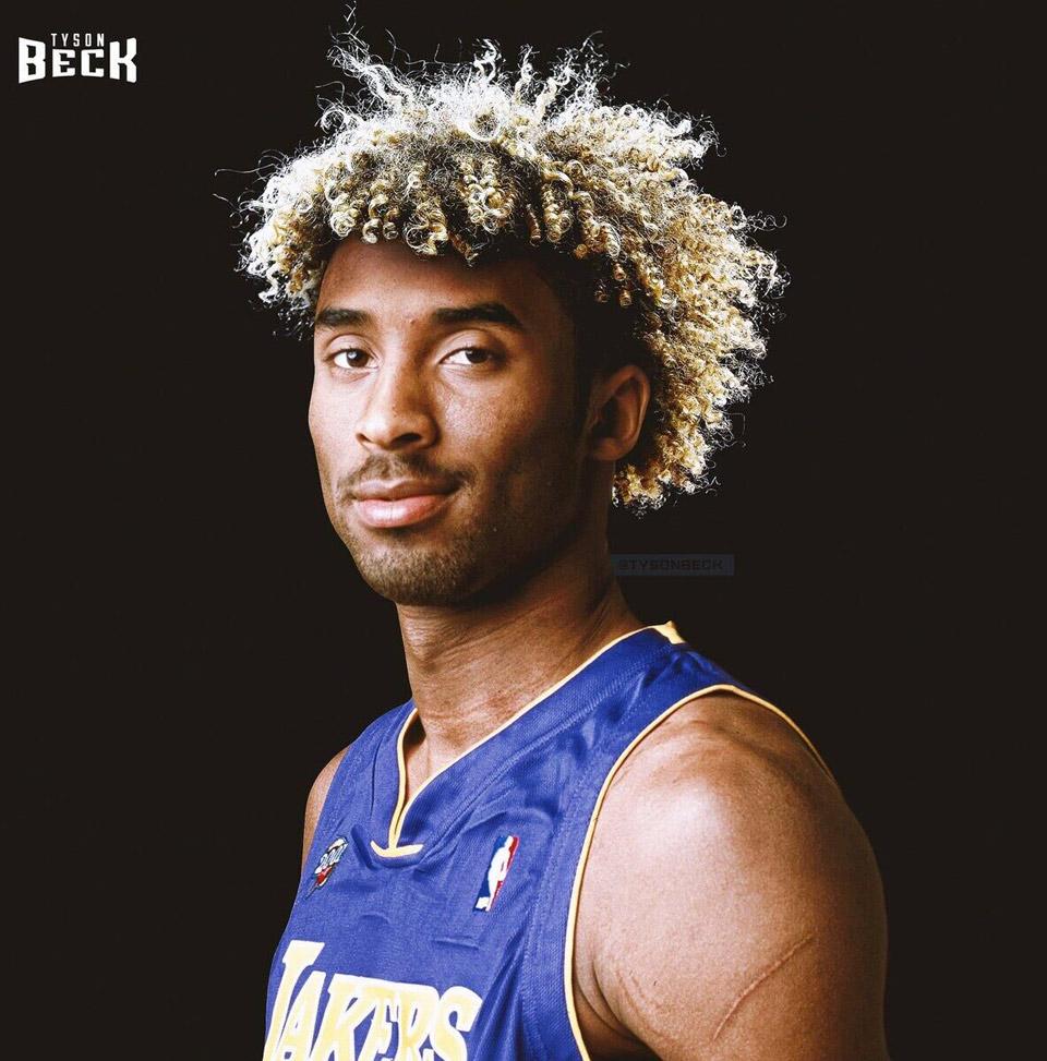"""艺术家为科比等NBA球星""""设计""""新发型"""