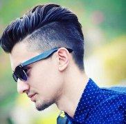 欧美男士流行发型设计