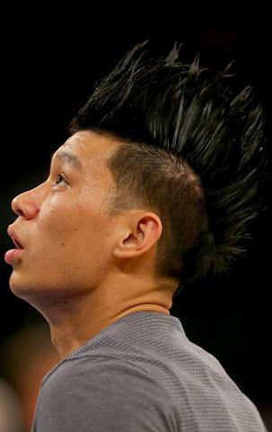 篮网晒各种发型照片为林书豪庆生