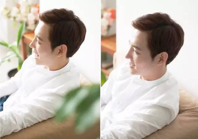 帅气侧分VS自然中分 男士刘海发型哪种好看