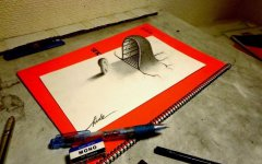 手绘三维创意图片