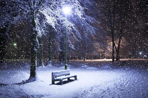 冬日雪景图片_这个冬天很温暖
