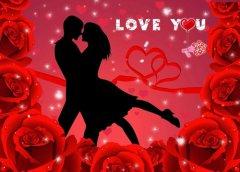 唯美非主流浪漫情侣图片_穿越千年的爱恋