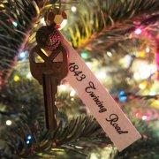 圣诞节的钥匙图片